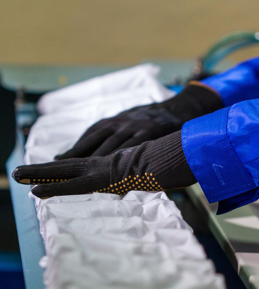 travailleur manufacture